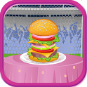 Delicious Burger Cooking Games icon