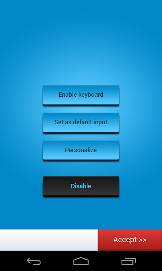 Galaxy S5 Keyboard - screenshot