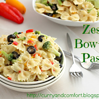 Zesty Bow Tie Pasta Salad