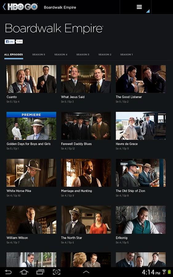 HBO GO - screenshot