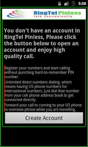 RingTel Pinless™