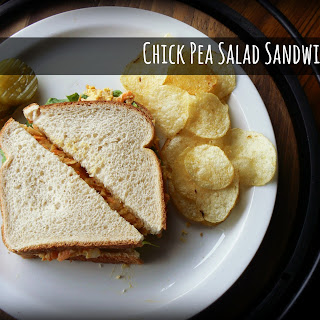 Meatless Monday - Chickpea Salad Sandwich