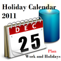 Holiday Calendar 2011-2012 icon