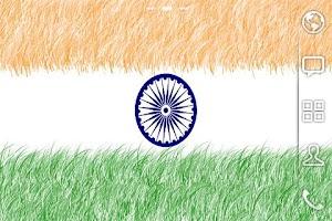 Screenshot of INDIAN FLAG LIVE WALLPAPER