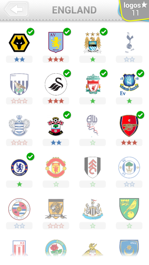 Logo Quiz - Soccer Clubs - screenshot