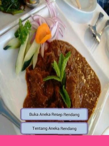 Rendang set Recipes Meat