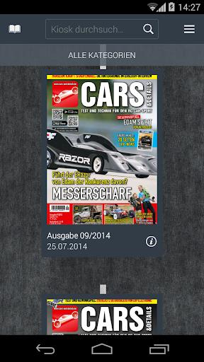 CARS Details-Kiosk