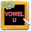 English Vowel U for LKG Kids icon