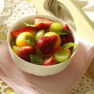 Fruit Cup with Citrus Sauce