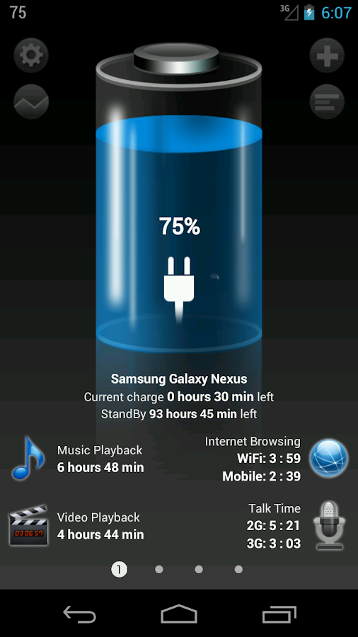 Battery HD - screenshot