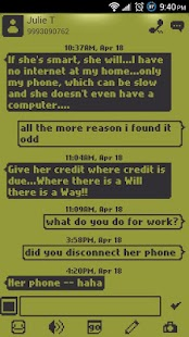 1998 Go SMS Pro Theme - screenshot thumbnail