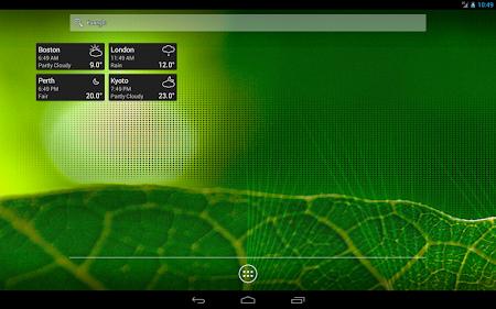 World Clock & Weather Widget 1.8.3 screenshot 530701