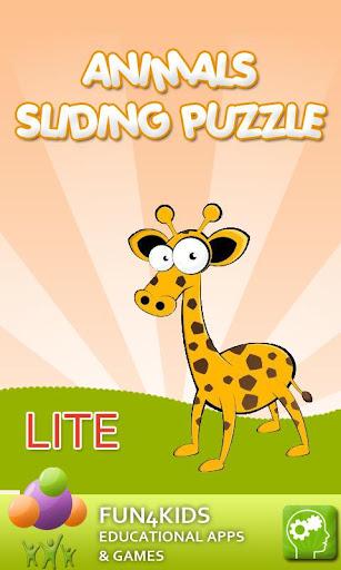 Animals Sliding Puzzle Lite