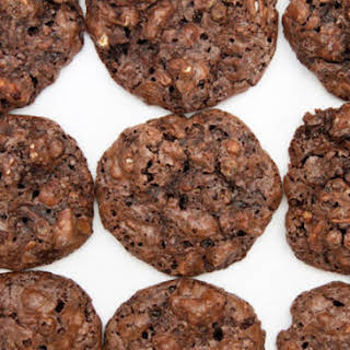 Flourless Chocolate-Pecan Cookies.