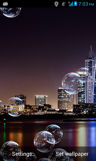 Dubai Bubble Live Wallpaper