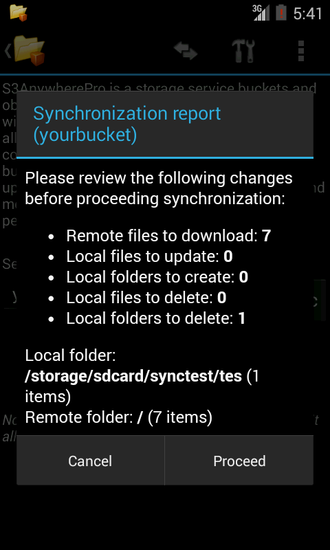 S3AnywherePro - screenshot