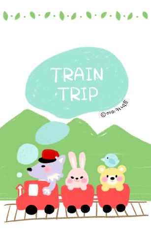TRAIN TRIP go launcher theme