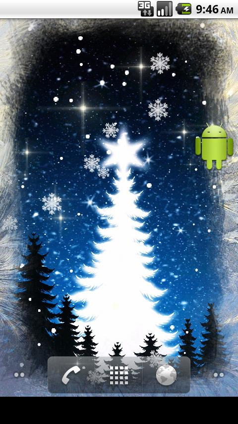 Winter Dreams Live Wallpaper - screenshot