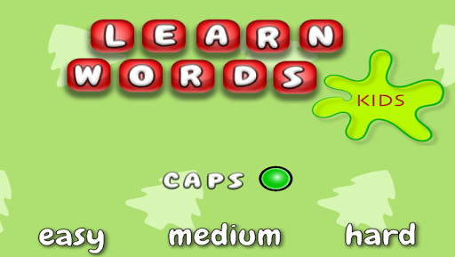 Kids - Learn words