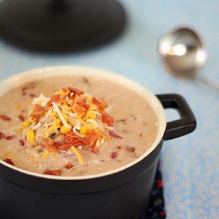 Jalapeno Popper Chicken Soup.