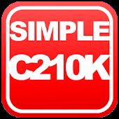 Simple C210K