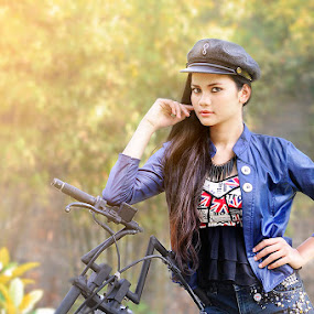 Send me an Rider by E-Graphic Rider - People Portraits of Women