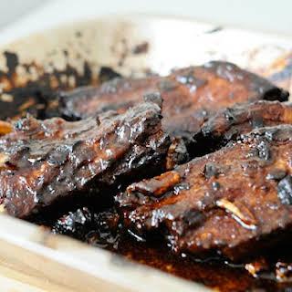 Chinese Marinated Pork Ribs.