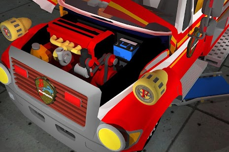 Fix My Truck: Fire Engine LITE- screenshot thumbnail
