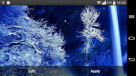 Frozen Waterfall LWP 2.0 screenshot 2081473