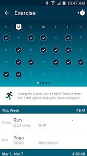 Fitbit- screenshot thumbnail