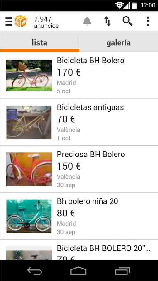 segundamano.es comprar/vender - screenshot
