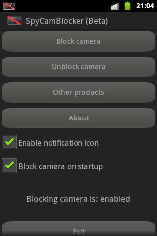 SpyCamBlocker Free beta