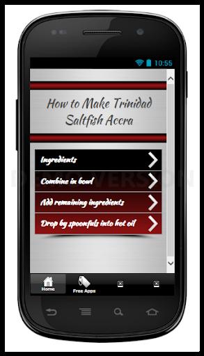Make Trinidad Saltfish Accra
