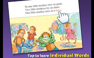 Screenshot of 5 Monkeys Go Shopping