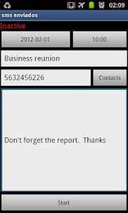 Blue Cat Sms Scheduler - screenshot thumbnail
