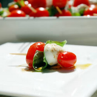 Tomato and Mozzarella Bites.