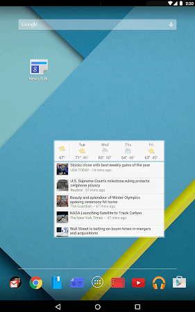 Google News & Weather 2.3 screenshot 2406