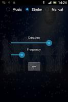 Screenshot of Disco Strobe Light