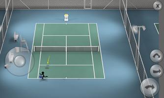 Screenshot of Stickman Tennis
