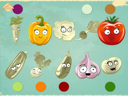 Funny-Veggies-Game-for-babies 2