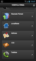 Screenshot of Verifica Firma