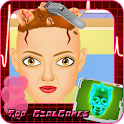 Hair and head doctor free game icon