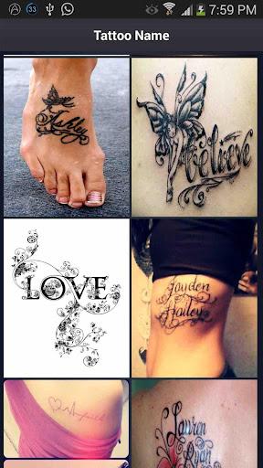 Name Tattoos Style