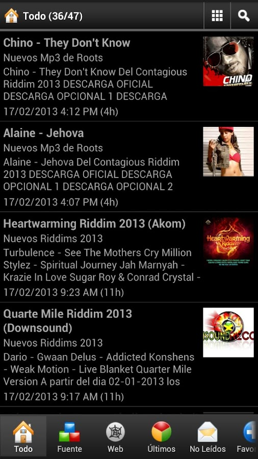 iNew Reggae Music - screenshot