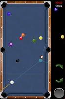 Screenshot of pool 9 ball for all