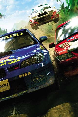 3D racing car wallpaper - screenshot