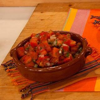 Chopped Fresh Tomato Salsa
