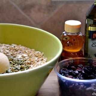 Chocolate Cherry Olive Oil Granola - Pompeian Holiday