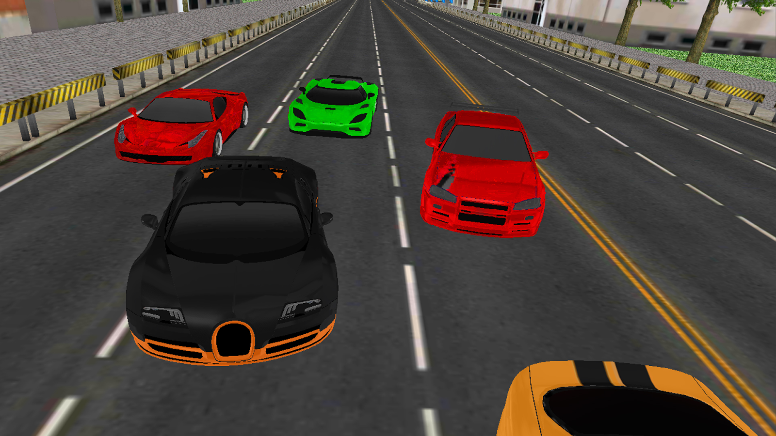 Car Racing 3D- screenshot