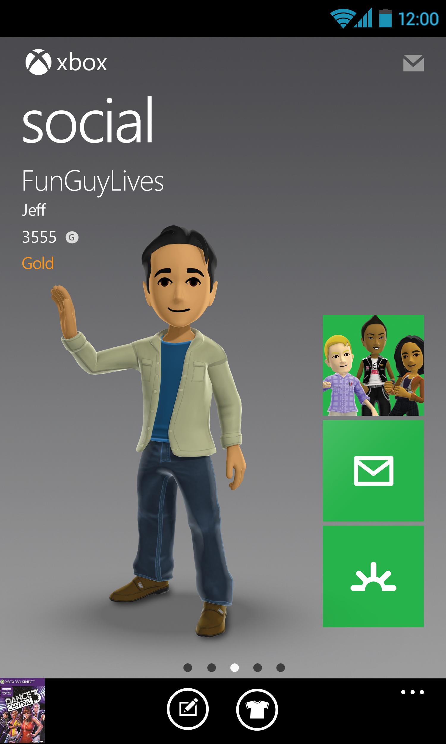 Xbox 360 SmartGlass screenshot #5